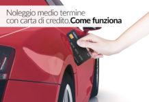noleggio auto carta credito