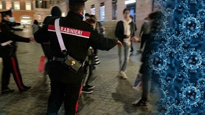 Carabinieri Controlli anti movida