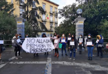 Scafati Protesta Mamme NO DAD