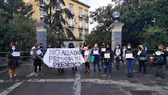 Scafati Protesta Mamme NO DAD