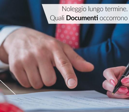 noleggio lungo termine documenti