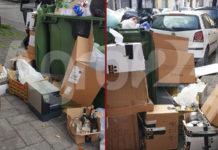 Angri Abbandono dei rifiuti