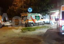 Scafati Ambulanze COVID hospital notte