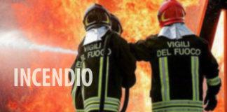 Vigili del fuoco incendio