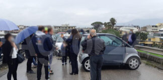 Angri Incidente sul Cavalcavia di Via Fontane