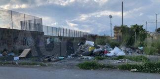 Angri discarica Via Caiazzo