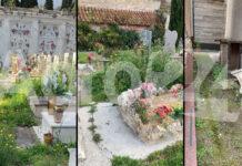 Pagani degrado cimitero