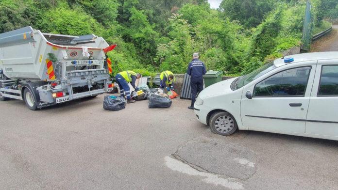Cava de'Tirreni conferimenti illeciti controlli rifiuti