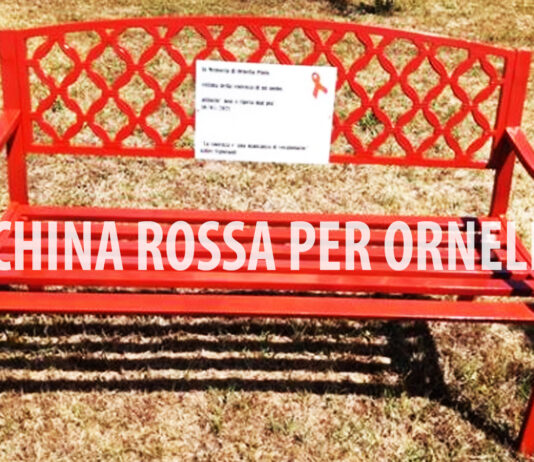 Panchina Rossa per Ornella PInto - Foto dal web