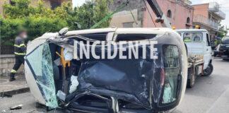 Scafati incidente Via Passanti