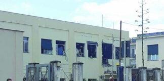 Castellammare di Stabia esplosione Commissariato Polizia
