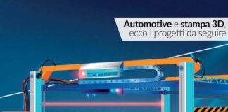 automotive stampa 3d mobilità