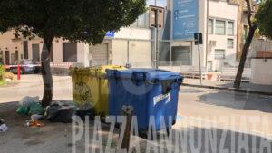 Angri rifiuti Piazza Annunziata