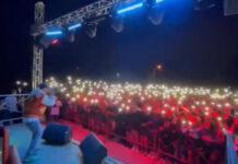 Il rapper Coco a Sant'Egidio del Monte Albino