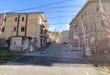 Sarno passaggio a livello EAV Via Roma