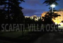 Scafati Villa Comunale al buio